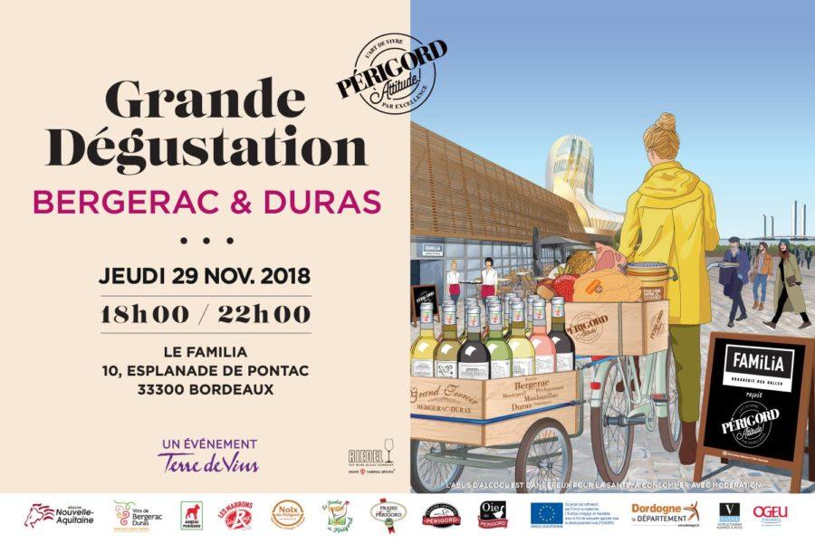Grande Dégustation Bergerac & Duras à Bordeaux