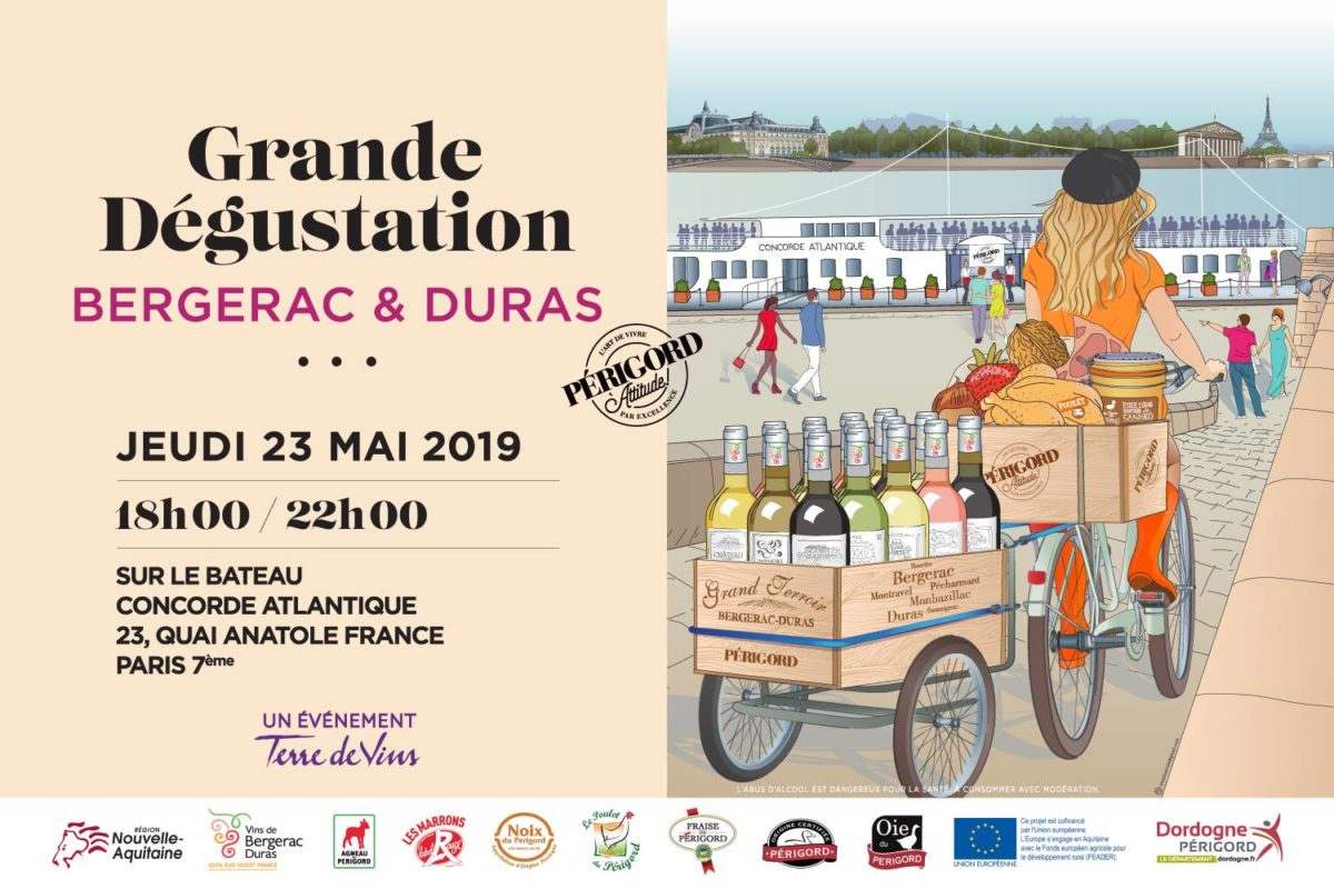 Grande Dégustation Bergerac & Duras à Paris
